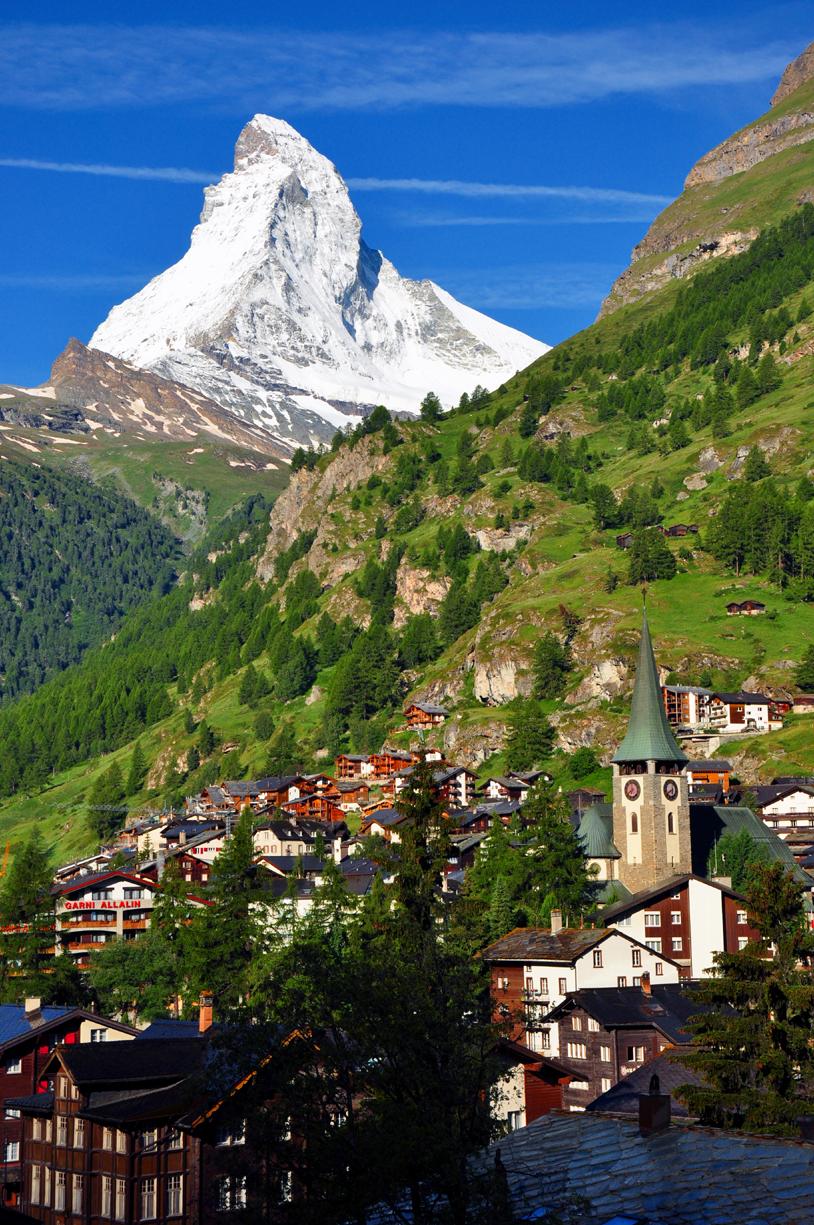 Matterhorn over Zermatt