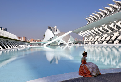 City of Arts and Sciences, Valencia, Spain