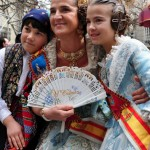 Fallas queen, Valencia, Spain